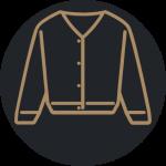 Eden Uniforms Cardigans Icon